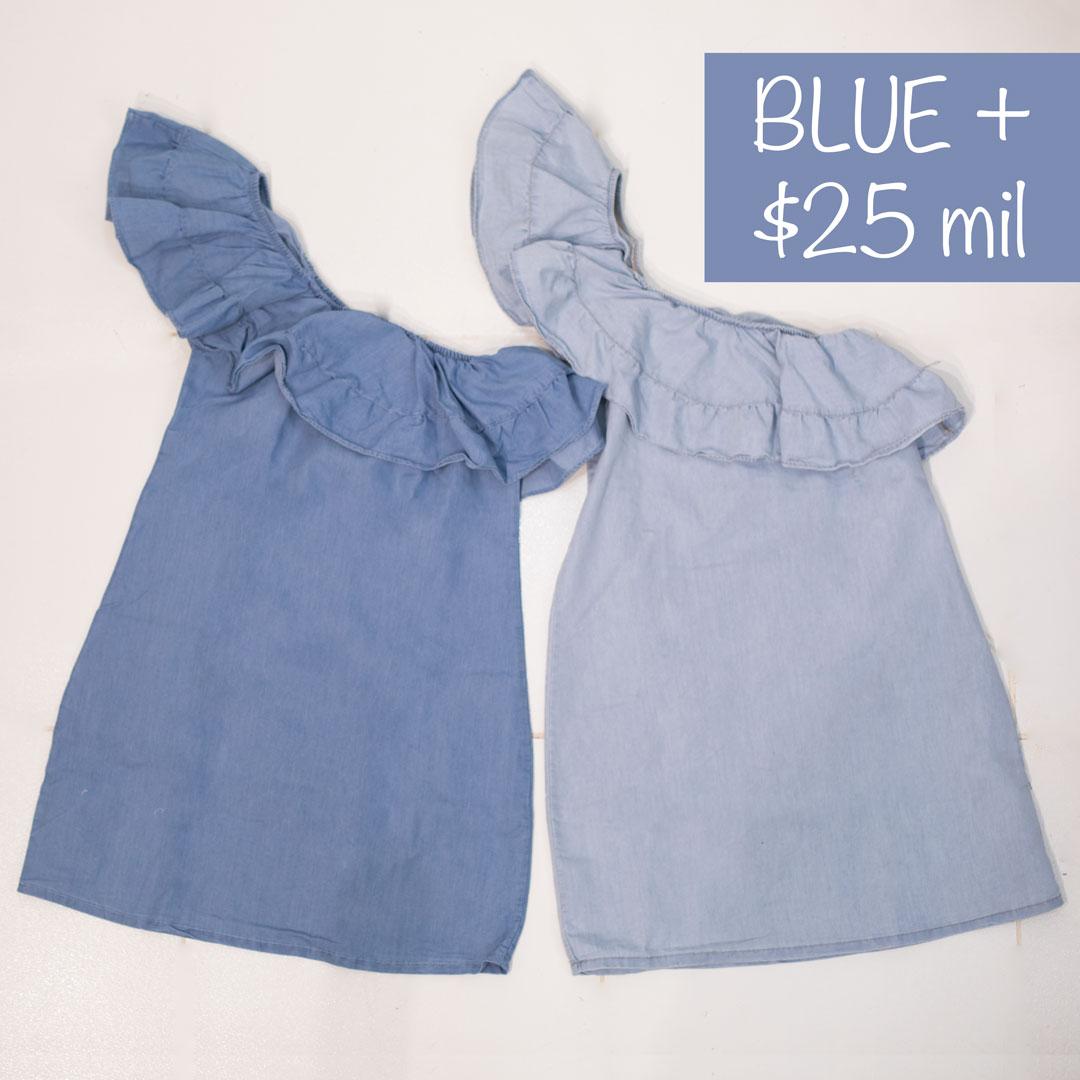 VESTIDO URBANA CORTO LINEA BLUE + » Classic Jeans Ropa para Hombre y ... ebfb86da4955