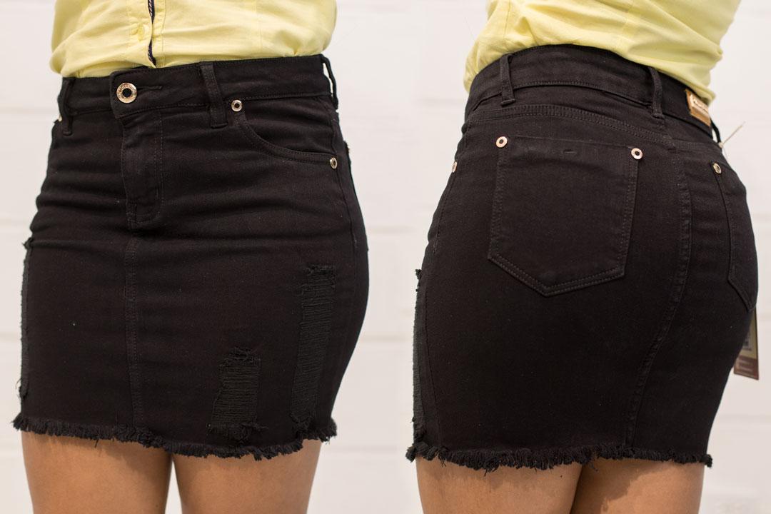 FALDA URBANA CON DESTROYED » Classic Jeans Ropa para Hombre y Mujer cf84863b96ed