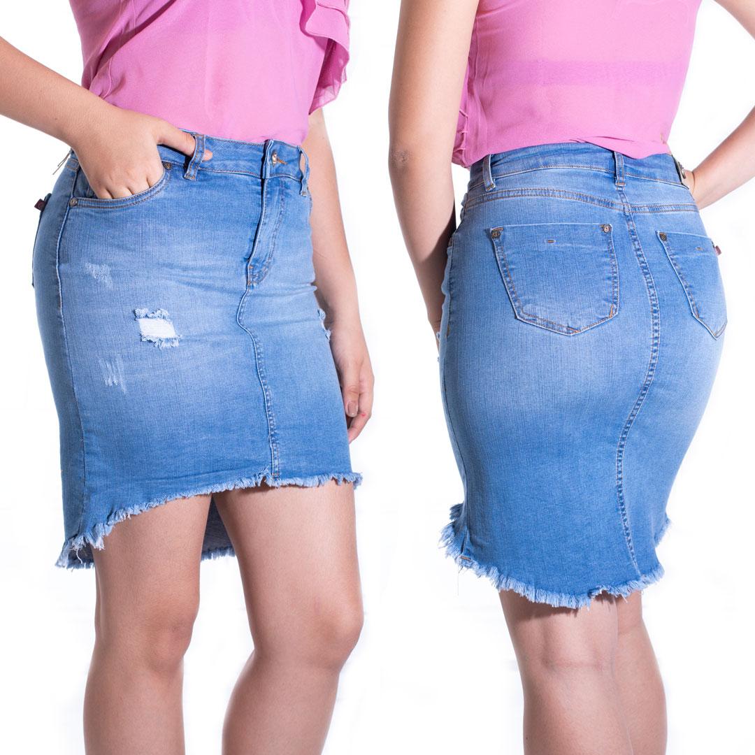 bc728f80c42e7 FALDA SLIM TIRO ALTO » Classic Jeans Ropa para Hombre y Mujer