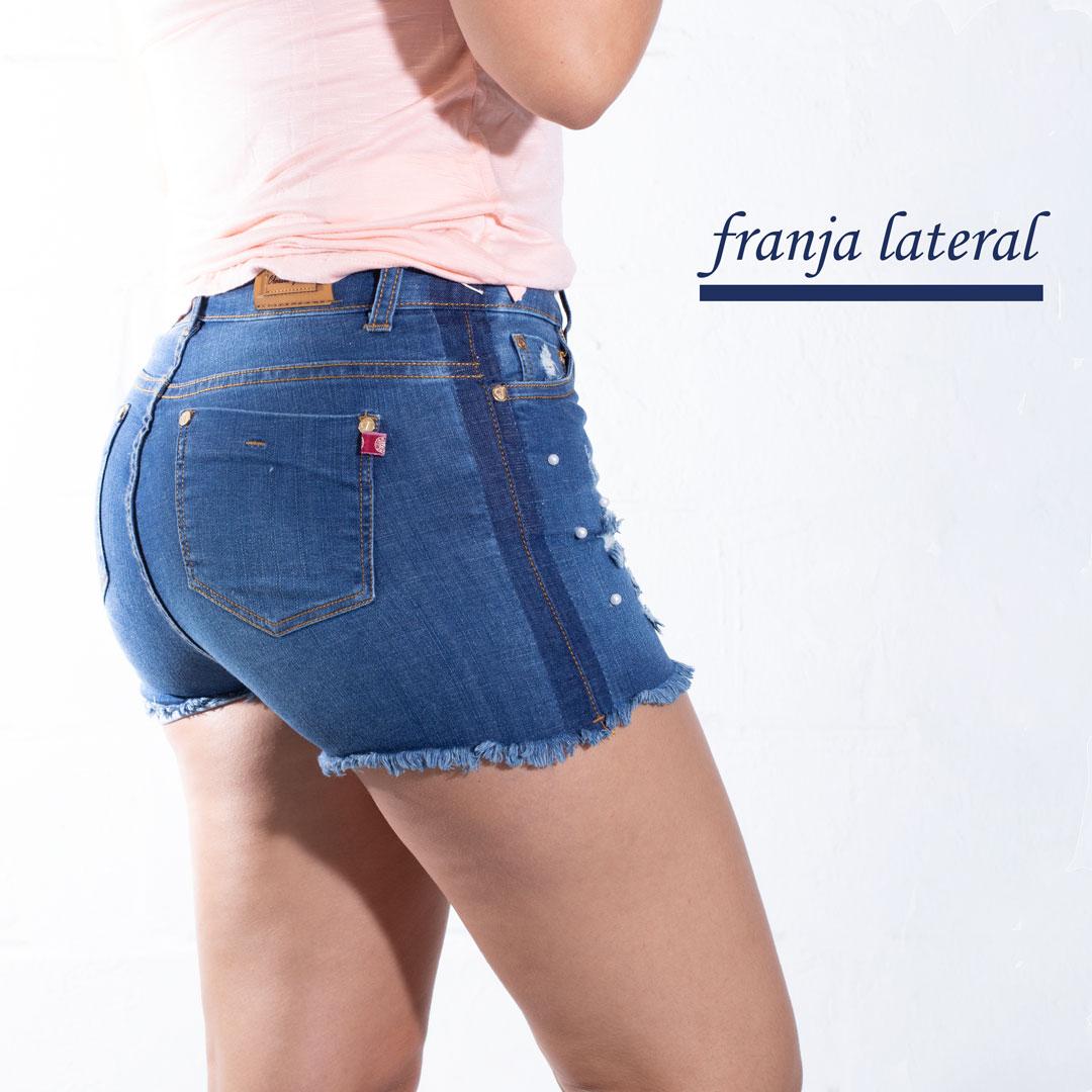 4ae6d0a7e7f0d SHORT SLIM TIRO ALTO » Classic Jeans Ropa para Hombre y Mujer